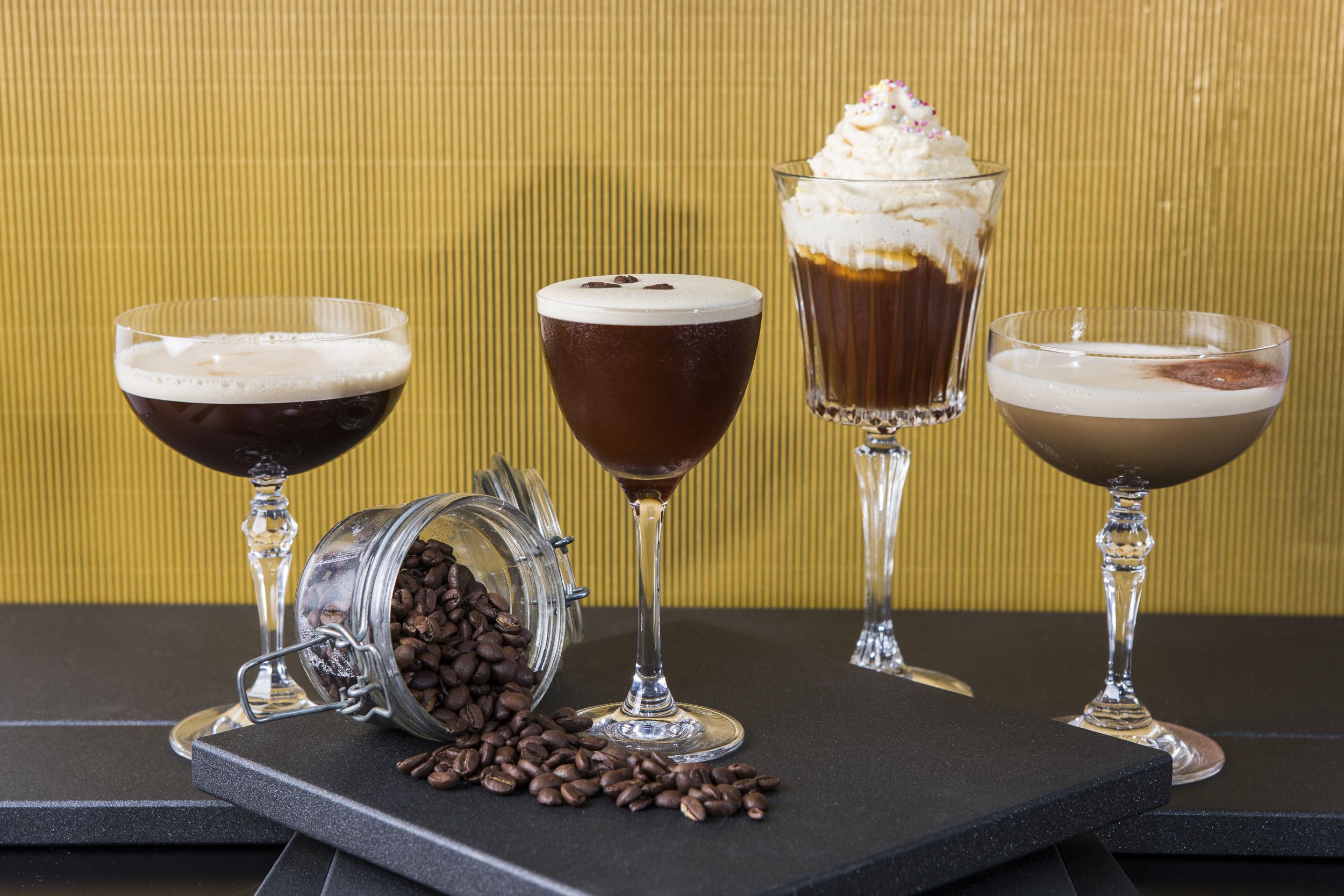 Espresso Martini Cocktail Menu - Searcys at the Gherkin