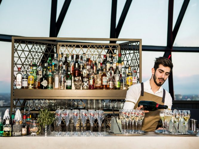 Bar at the Gherkin