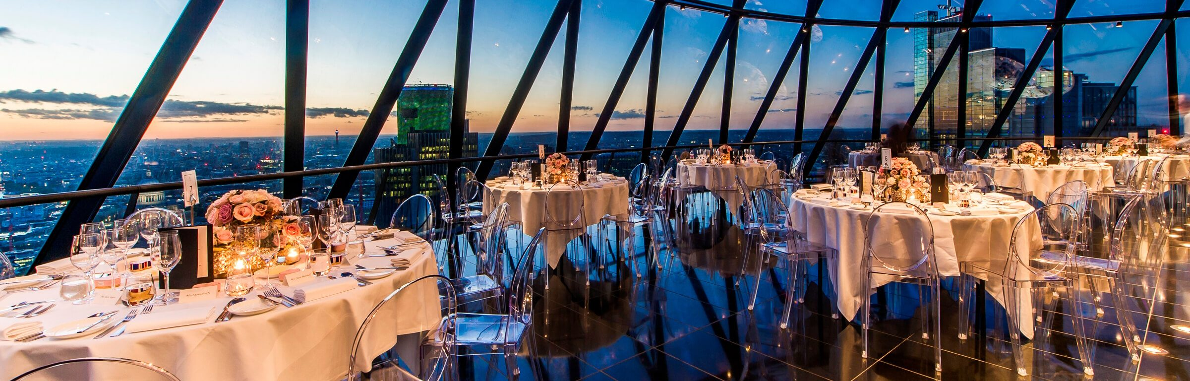 Birthday Parties - Searcys at the Gherkin