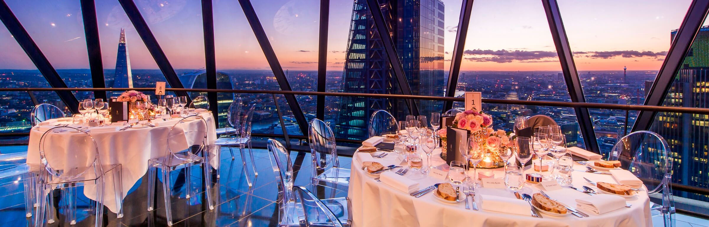 Weddings - Searcys at the Gherkin