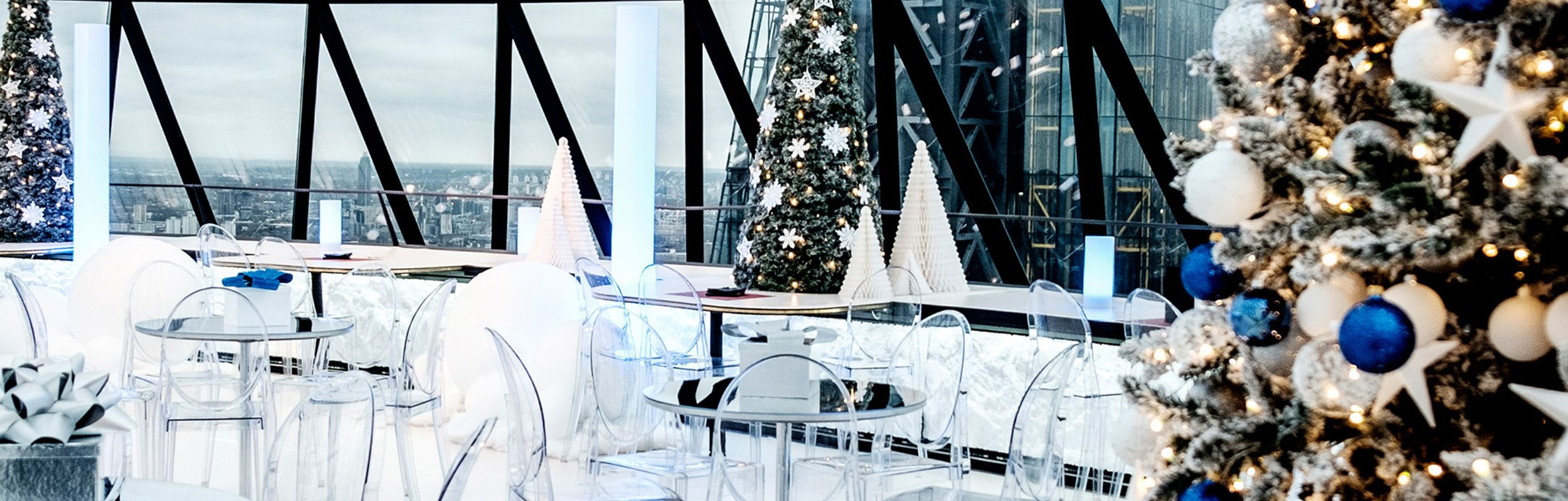 Christmas Parties - Searcys at the Gherkin