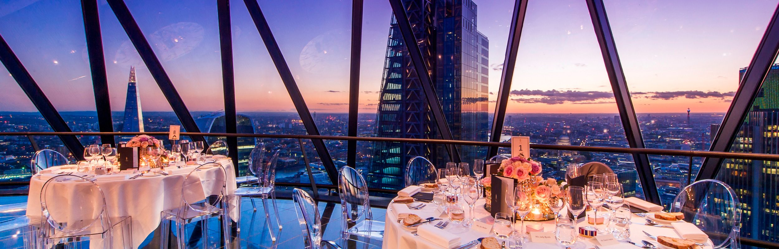 Bar and Bat Mitzvah Packages - Searcys at the Gherkin