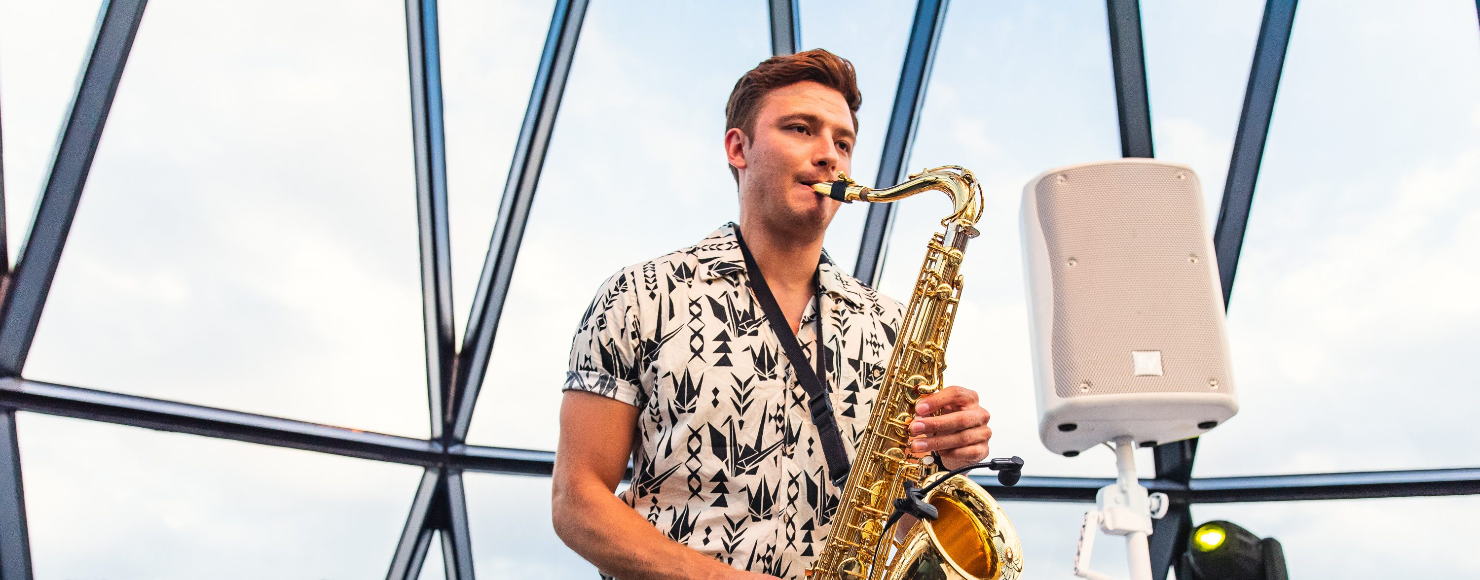 FRIDAY NIGHT SAX & DJ AT THE GHERKIN