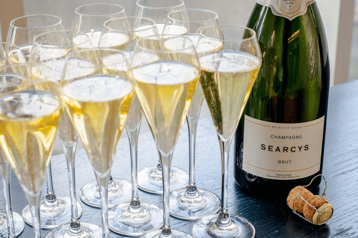 It's all about champagne - Searcys at the Gherkin