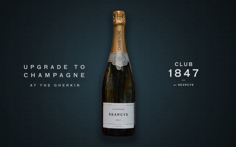 Upgrade to Champagne with CLUB 1847