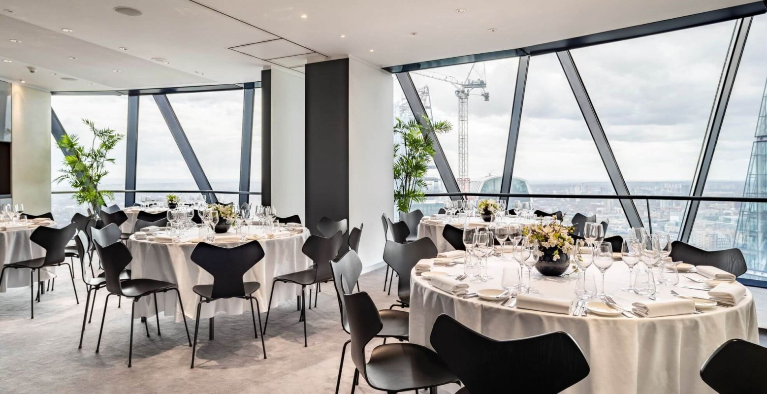 Hedonist Wine Dinner - Searcys at the Gherkin
