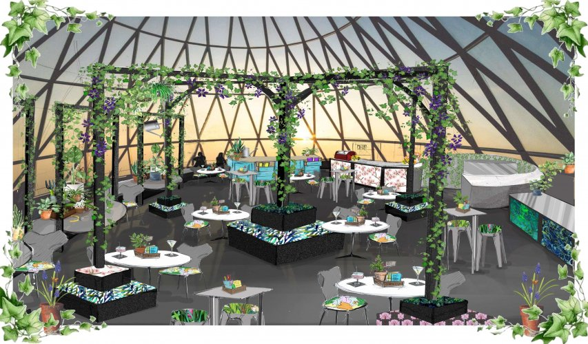 The Glasshouse at The Gherkin