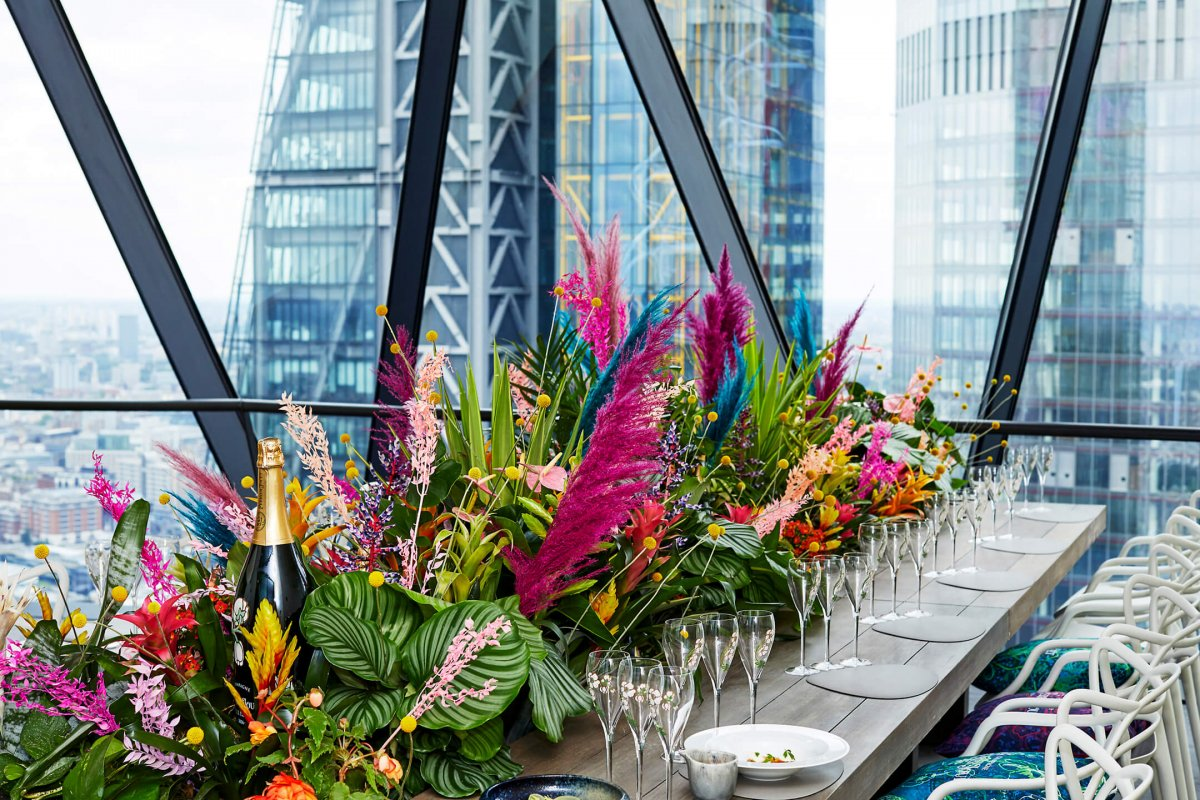 Table of Tastes by Perrier-Jouët - Searcys at the Gherkin