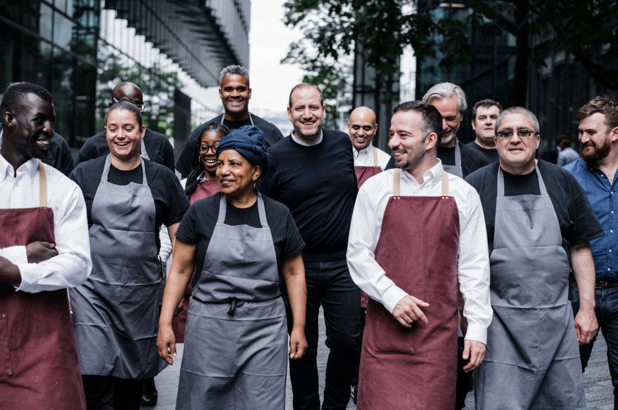 Christmas partnership with Beyond Food - Searcys at the Gherkin