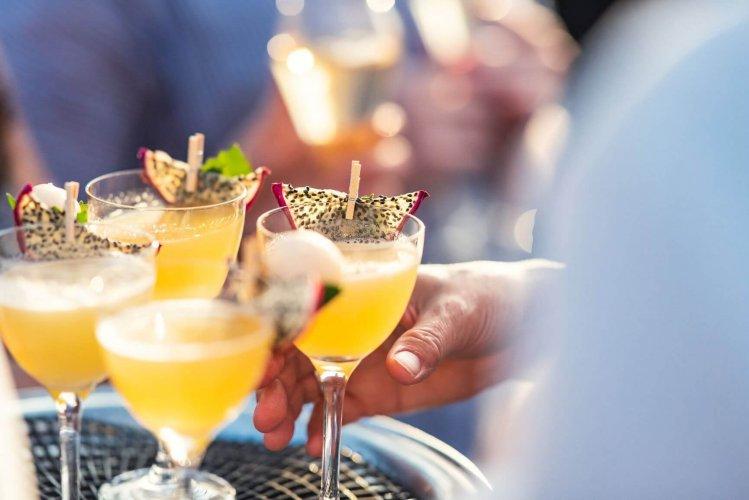 Cocktails at the Iris Bar