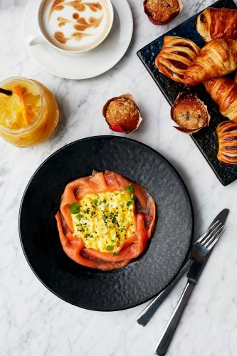 Book Sunday brunch at The Gherkin