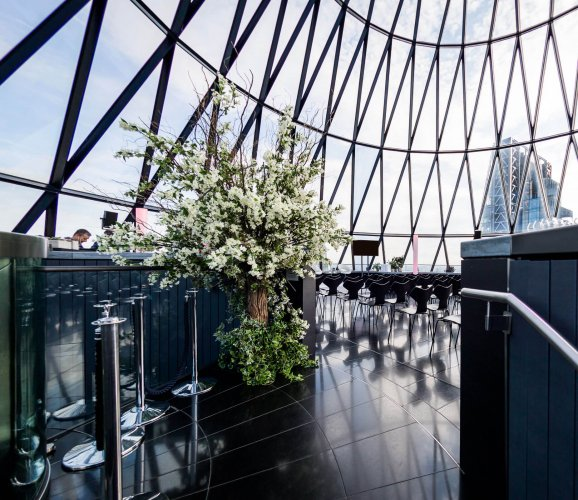 Business breakfasts at The Gherkin