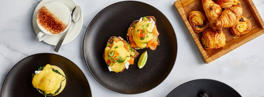 Breakfast and brunch at the Gherkin