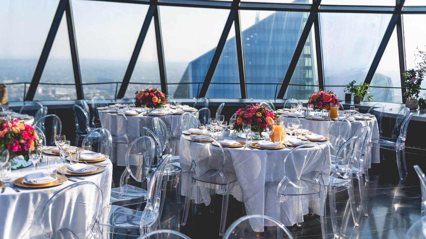Exclusive Hire - Searcys at the Gherkin