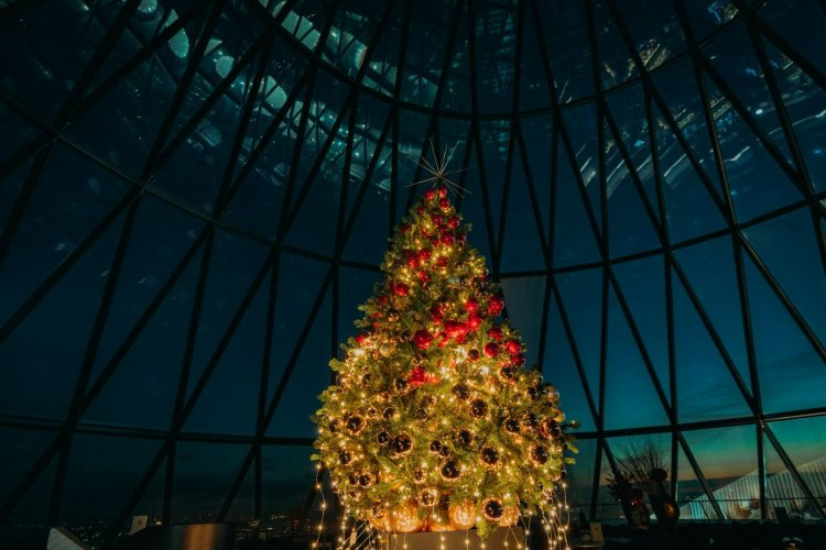 Book your Christmas party at The Gherkin