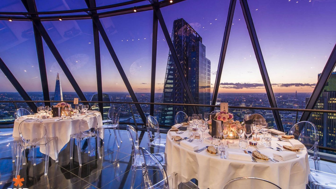 The Handbook: The Best Wedding Venues In London & Beyond - Searcys at the Gherkin