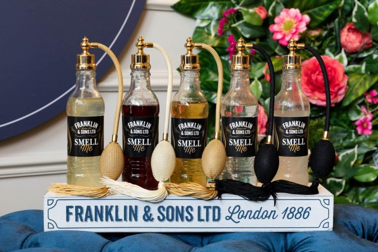 Visit Franklin & Sons flavour discovery at the Gherkin's Iris Bar