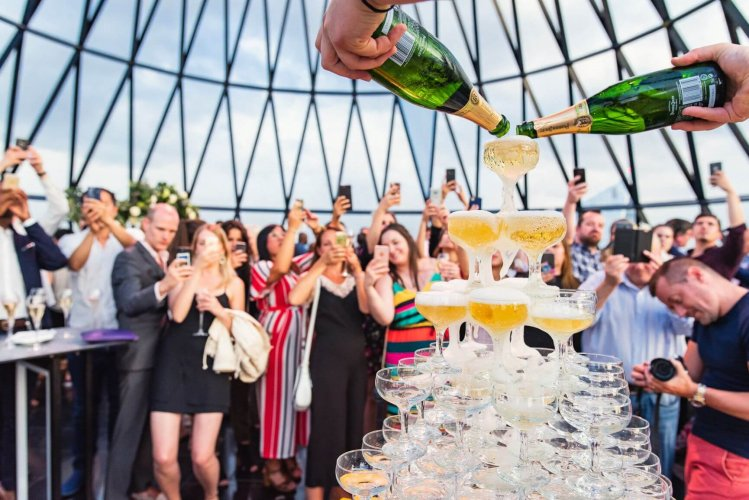 Events at The Gherkin