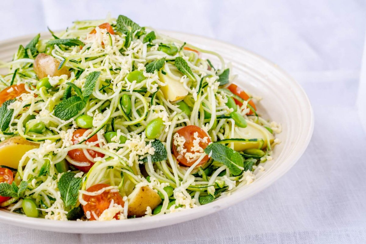 Courgetti salad recipe