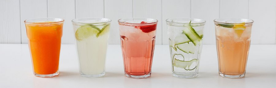 Spring flavoured water recipe