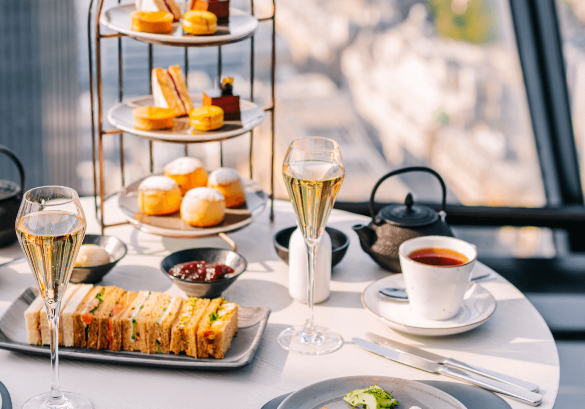 Sparkling Afternoon Tea - Searcys at the Gherkin