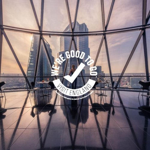 "Searcys at the Gherkin receives ""We're Good To Go"" VisitBritain accreditation"