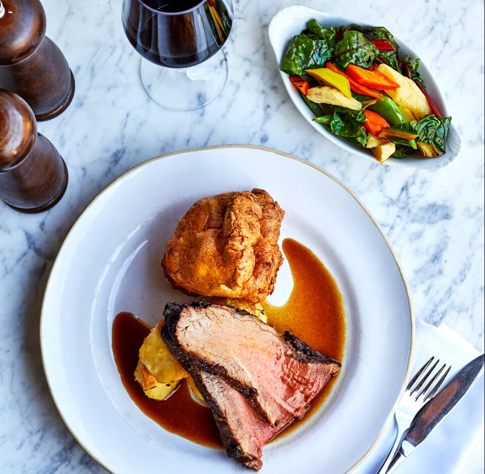 Two Course Sunday Roast for £35