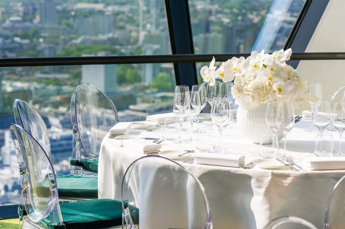 Private Dining Room Packages - Searcys at the Gherkin