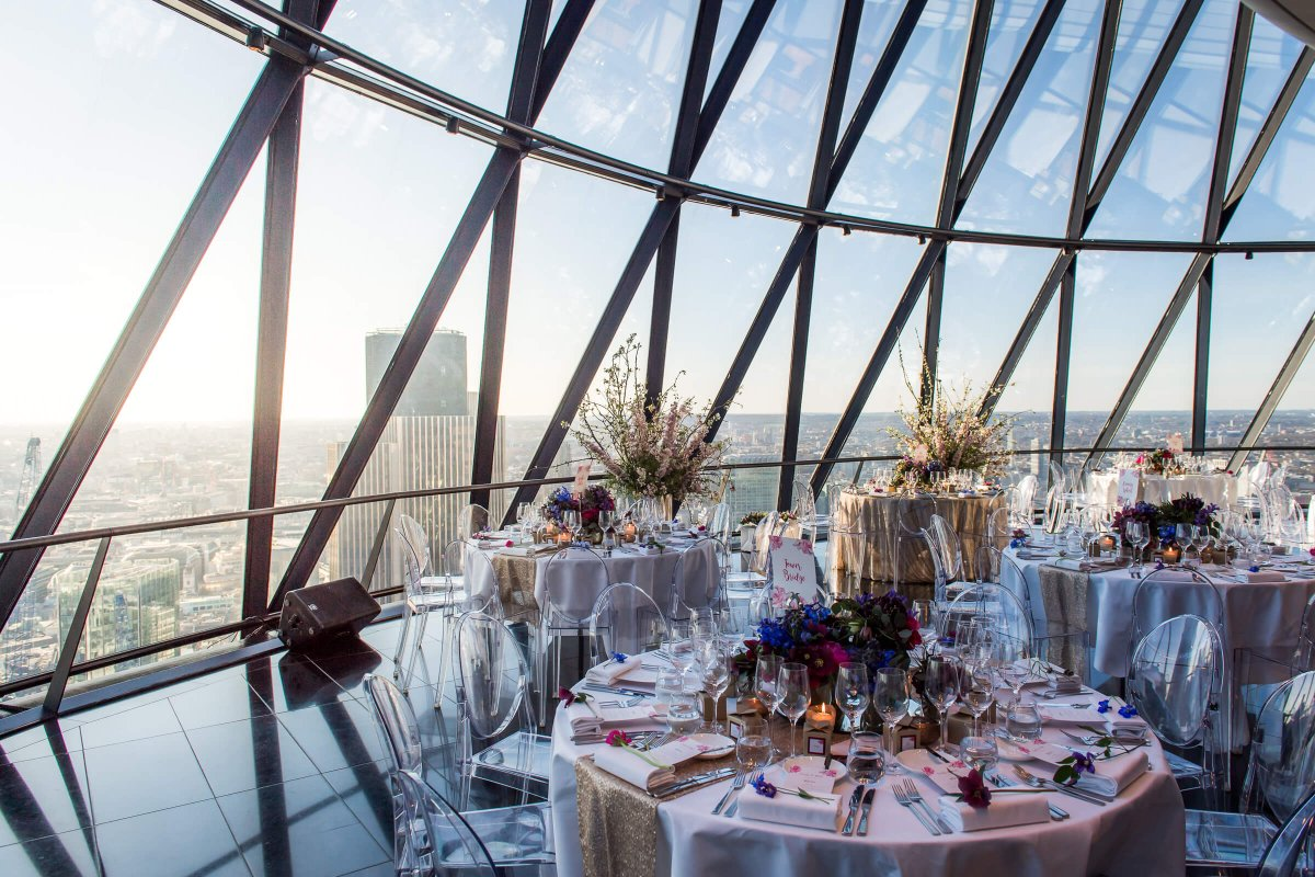 Exclusive Hire Packages - Searcys at the Gherkin