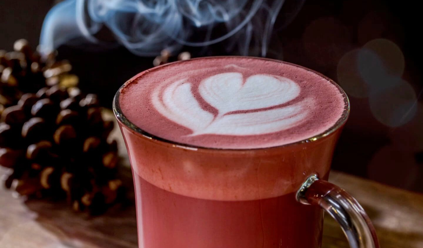 BEETROOT RED VELVET HOT CHOCOLATE