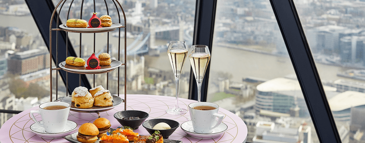 Afternoon Tea - Searcys at the Gherkin